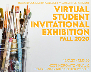 Postcard for Virtual Student Invitational Exhibition Fall 2020