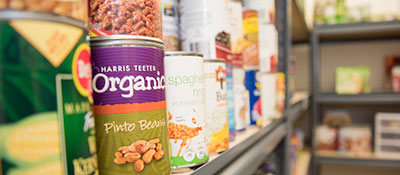 HCC's food pantry