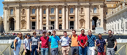 Students on the Italy Study Abroad Program