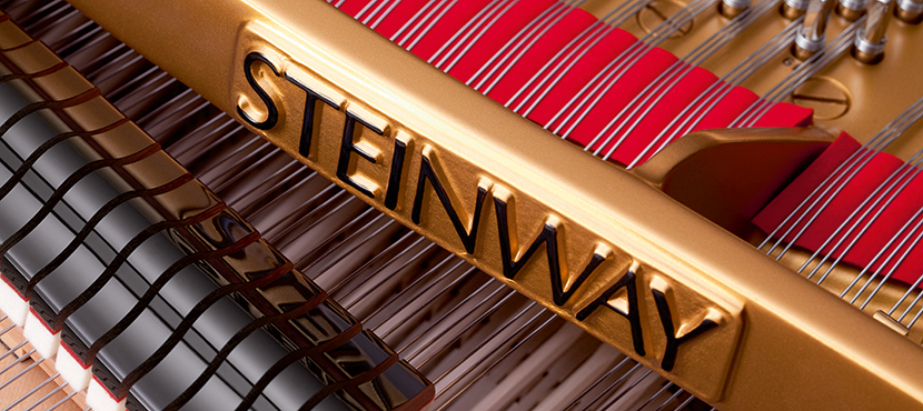 Steinway Piano Close Up