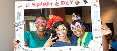 Health Sciences Spirit Day at HCC 2019.