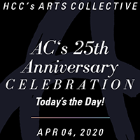 Arts Collective's 25th Anniversary Celebration: Today's The Day!