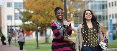 students on hcc's campus