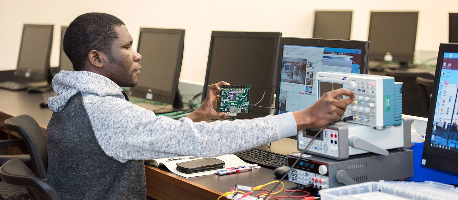 Computer engineering programs at HCC.