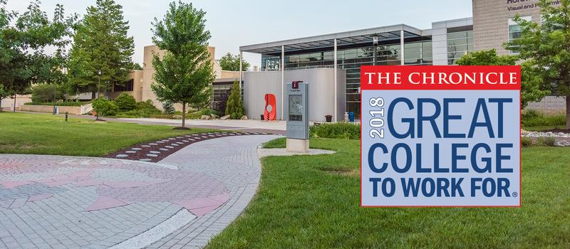 HCC has been named a Great College to Work For.