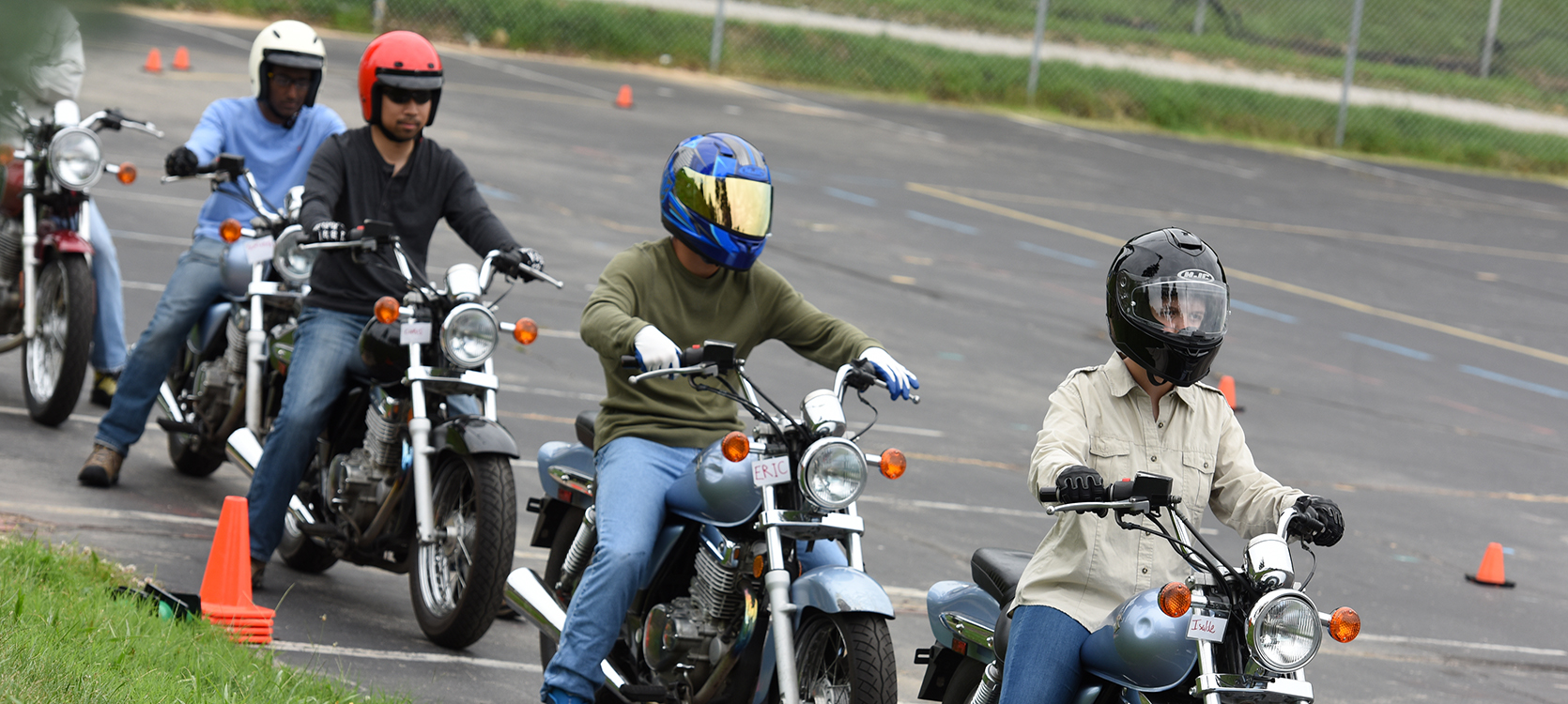 Get There From HereEarn your motorcycle license with hands-on training in small classes.
