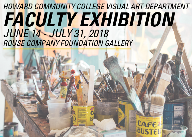 FACULTY EXHIBITION JUNE 14 -JULY 31, 2018
