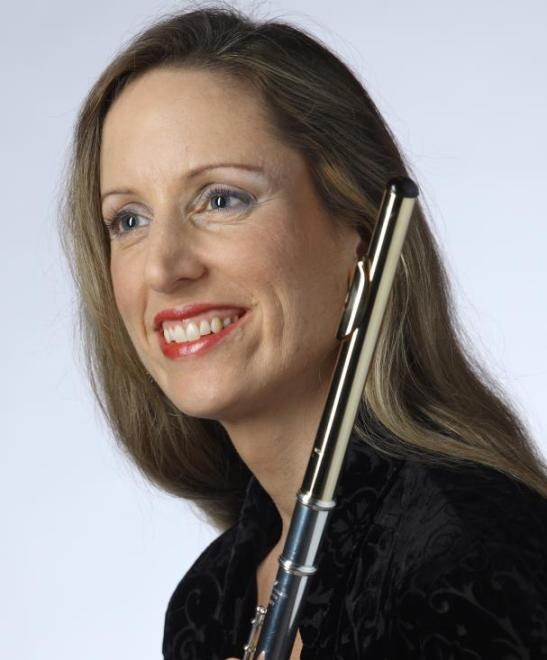 "Melissa Lindon, flute A Howard County native, Melissa completed her Artist Certificate in Flute Performance at Southern Methodist University, where she studied with Jean Larson and Deborah Baron (piccolo). She began her flute studies with her mother, Marlee Lindon, and studied with Emily Skala before attending Boston University. She received her Bachelor of Music (magna cum laude) and Master of Music degrees in Flute Performance from Boston University as a student of Doriot Anthony Dwyer and Marianne Gedigian. Other influential teachers include Keith Underwood, Martha Aarons, David Shostac, and Linda Toote.  As Adjunct Faculty at Howard Community College and Flute Instructor for The Music Institute at HCC since 2003, Melissa teaches students of all ages and levels. She is co-director of ""Flute-a-rama,"" a weeklong summer flute camp in Takoma Park, Maryland, where she maintains an active private studio. Previous faculty appointments include the Greater Boston Youth Symphony Orchestras Independent Schools Orchestra Program, Winchester (MA) Community Music School, Creative Arts for Kids (Reading, MA), and the acclaimed Duncanville (TX) Independent School District Band Program.  An active orchestral, chamber and solo freelancer in the Washington D.C. metropolitan area, she has performed at venues including The John F. Kennedy Center for the Arts, Strathmore Mansion, Fairfax Old Town Hall, the Hillwood Museum, and Buckingham's Choice. A wind quintet aficionado, she is founder and flutist of the Patagonia Winds, and flutist with the Georgetown Quintet, which was nominated for the Washington Area Music Award as Best Chamber Ensemble of 2009. She is also a performing member of the Friday Morning Music Club and co-principal flute and solo piccolo of its orchestra, Avanti. She performed with Boston area ensembles, including the Rhode Island Philharmonic Orchestra, Cape Symphony Orchestra, New Bedford Symphony Orchestra, and Atlantic Symphony Orchestra.  She was a featured soloist with the Meadows Wind Ensemble and the Texas Festival Orchestra, and a finalist in the prestigious Pappoutsakis Flute Competition in Boston. She was a 1996 recipient of the P.E.O. Scholar Awards grant. As a member of the Meadows Wind Ensemble, she premiered Stephen Jones' Passages in Manchester, England and is featured on the ensemble's recording of that work on the CD Snow Tracks on the Gasparo label.  Also a certified yoga teacher (RYT500), Melissa brings particular attention to breathing, posture and body awareness to her flute teaching. She has been featured as a clinician leading ""Yoga for Musicians"" workshops at the Trevor Wye Masterclass at Boston University, the Flute Society of Washington's Mid-Atlantic Flute Fair, and Howard Community College, and works individually with professional and student musicians to apply yoga practices to achieve freedom and ease in their music-making.  www.melissalindon.com  Interested in lessons with Melissa? Click here to contact Kyle Coughlin, the Coordinator of Wind Studies."