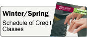 Spring Credit Classes