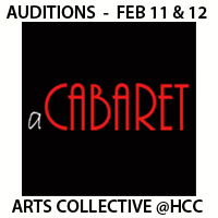A Cabaret OPEN AUDITIONS
